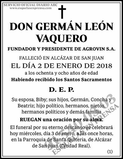 Germán León Vaquero